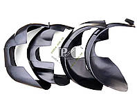 Подкрылки Mitsubishi Lancer X 2007-н.в. - Защита арок колесных Митсубиси Лансер Х 2007-н.в.