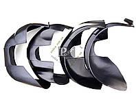 Подкрылки Mitsubishi Outlander XL 2005-2012 - Защита арок колесных Митсубиси Аутлендер ХЛ 2005-2012