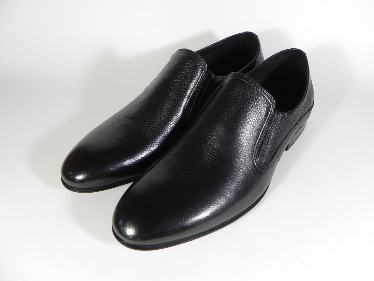 Туфли мужские Boss Victori из натуральной кожи черные  продажа, цена ... 27d2ffb19a6
