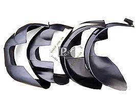 Подкрылки Skoda Fabia MK2 2007-2014 - Защита арок колесных Шкода Фабия МК2 2007-2014