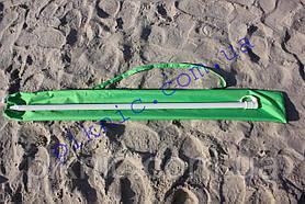 Пляжный зонт 2м клапан наклон Плотная ткань Тканевый чехол Зонтик для пляжа от солнца Салатовый 352, фото 3