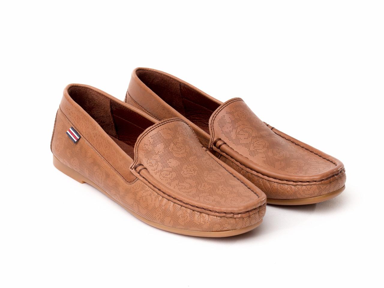 Мокасины BERTAN 2755-7027-2-2122 39 коричневые