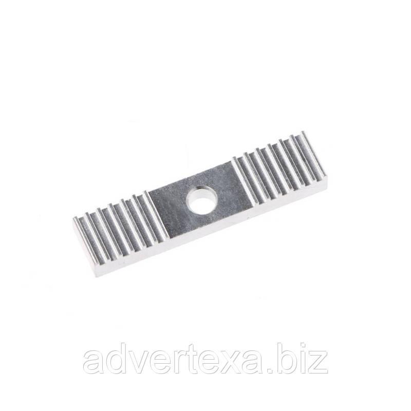 Фиксатор GT2 ремня, шаг зуба 2 мм. зажим 9x40 мм для 3D-принтеров и ЧПУ