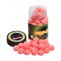 Бойлы Техно Карп Pop-Up Strawberry, 25гр.