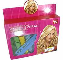 Чарівні бігуді для довгого волосся Magic Leverage