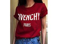 Женская футболка с надписью GIVENCHY PARIS СЦ28333, фото 1