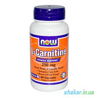 NOW L-Carnitine 250 mg (60 капс) л карнитин нау