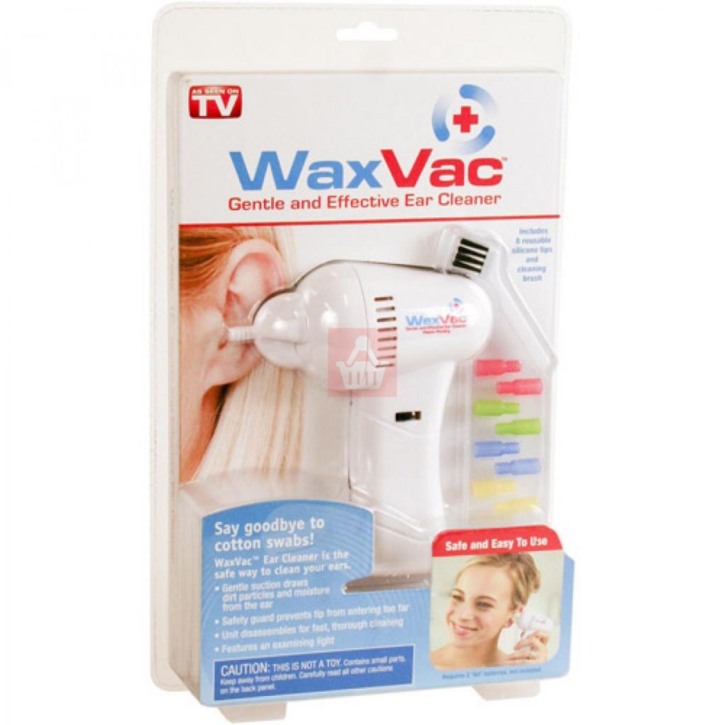 Прилад для чищення вух Wax Vac
