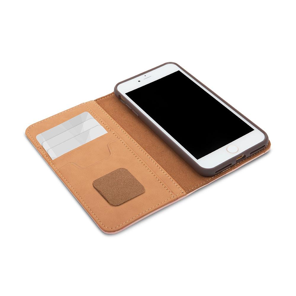 Чехол Moshi Overture Wallet iPhone 8 Plus 7 daisy pink