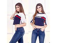 Женская укороченная футболка Tommy Hilfiger СЦ28193