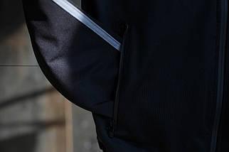 Мужской спортивный костюм Adidas.Белый/Черный.KD-1503, фото 3