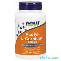 NOW Acetyl-L-Carnitine 500 mg (100 капс)  ацетил л карнитин нау