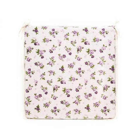 Подушка на стул Lilac Rose 40х40см, фото 2