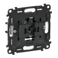 752016 Механізм прохідного вимикача, 1-клавішний Legrand Valena Allure