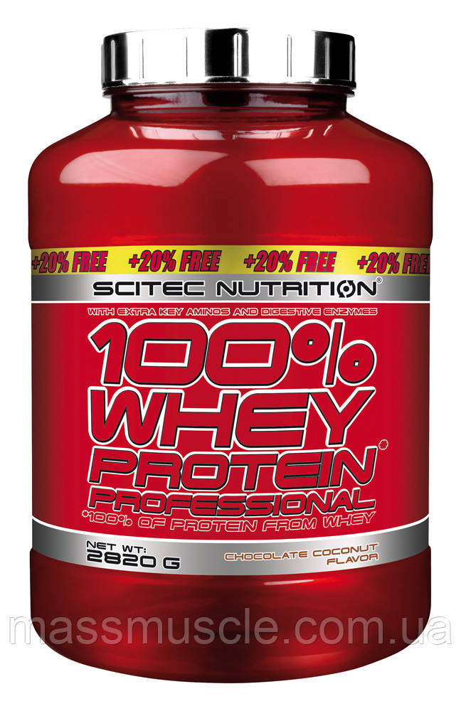Протеин Scitec Nutrition Whey Protein Professional 2820 g
