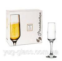 """Набор бокалов для шампанского """"Изабелла 440270"""" Pasabahce 6 шт."""