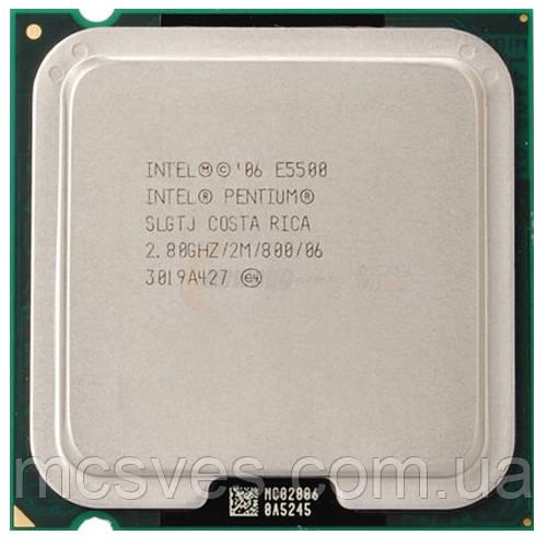 Процессор Intel Pentium Dual Core E5500 (2×2.80GHz/2Mb/s775) tray