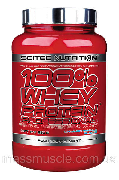 Протеин Scitec Nutrition Whey Protein Professional 920 g