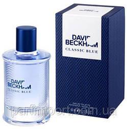David Beckham Classic Blue EDT 60 ml  туалетная вода мужская (оригинал подлинник  Испания)