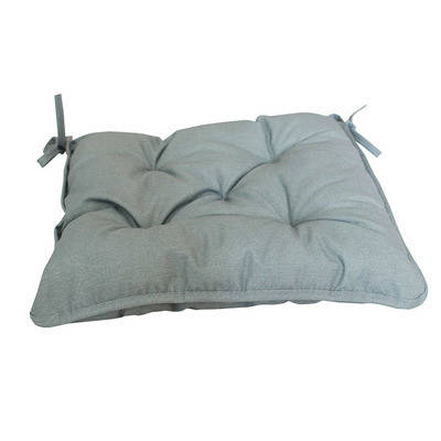 Серая подушка на стул 40х40см, фото 2