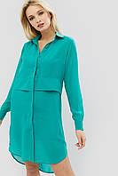Женское шифоновое платье-рубашка (Kenzo crd)