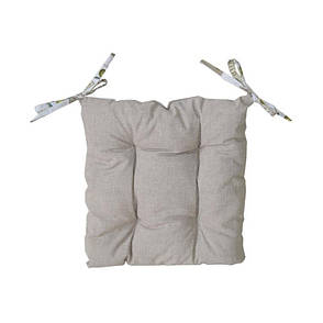 """Подушка на стул """"Олива"""" двусторонняя 40х40 см, фото 2"""