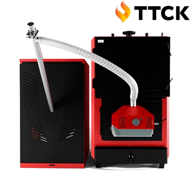 Пеллетный котел Marten Industrial T Pellet мощностью 300 кВт
