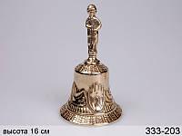 Колокольчик декоративный Stilars 16 см 333-203