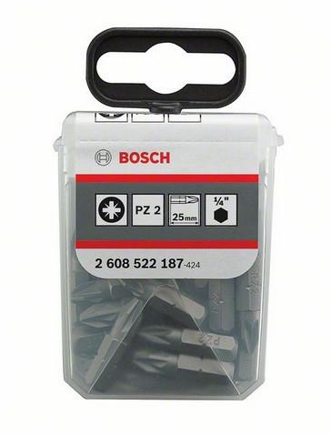 25 насадок для загвинчування Extra-Hart PZ 2/25 мм BOSCH