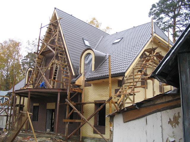 Реконструкция здания под ключ
