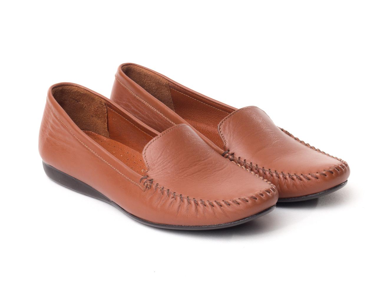 Мокасини BERTAN 2618-3010-14751 39 коричневі