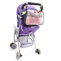 Сумка - органайзер на коляску для детских вещей и мелочей ( сумка для коляски )