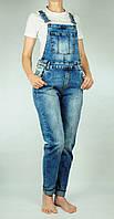 Джинсовый комбинезон с широкими штанинами, МОМЫ, фото 1