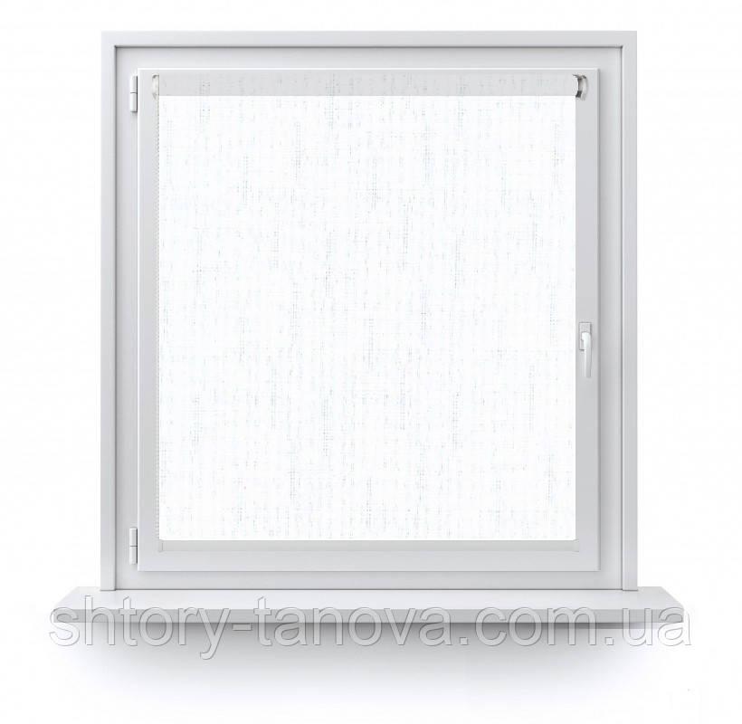 Рулонні штори Льон 0800 білий