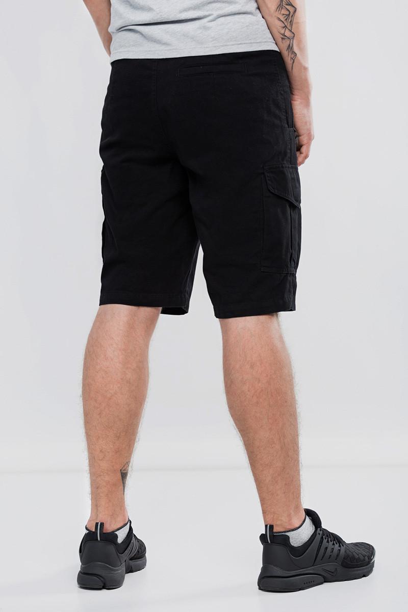 382aa1007dcffc Мужские шорты карго черный BLK Urban Planet (шорты мужские, карго ...