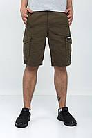 Мужские шорты карго оливковые OLIVE Urban Planet (шорты мужские, карго шорты, шорти чоловічі, летняя одежда)