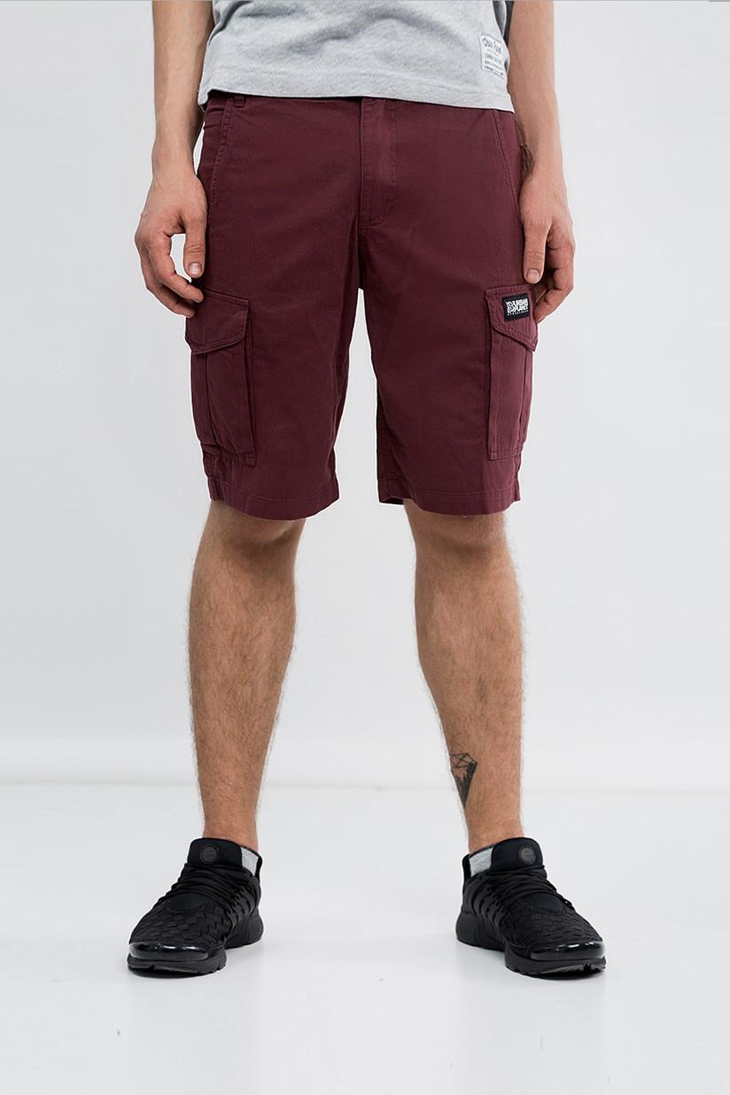 b2fadf2195c8a4 Мужские шорты карго бордовые MAR Urban Planet (шорты мужские, карго шорты,  шорти чоловічі