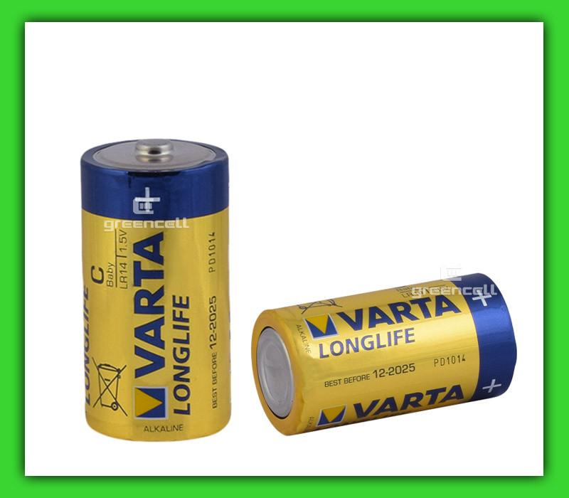 Батарейка Varta LR14 Long Life Alkaline