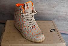 Сникерсы женские Nike беж\оранж