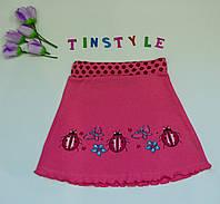 Миленькая трикотажная  юбка  для девочки рост 92-104 см , фото 1