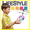 Хит! Летающий LED Мяч. Детская игрушка Sensor Flying Ball. Скидка −30%