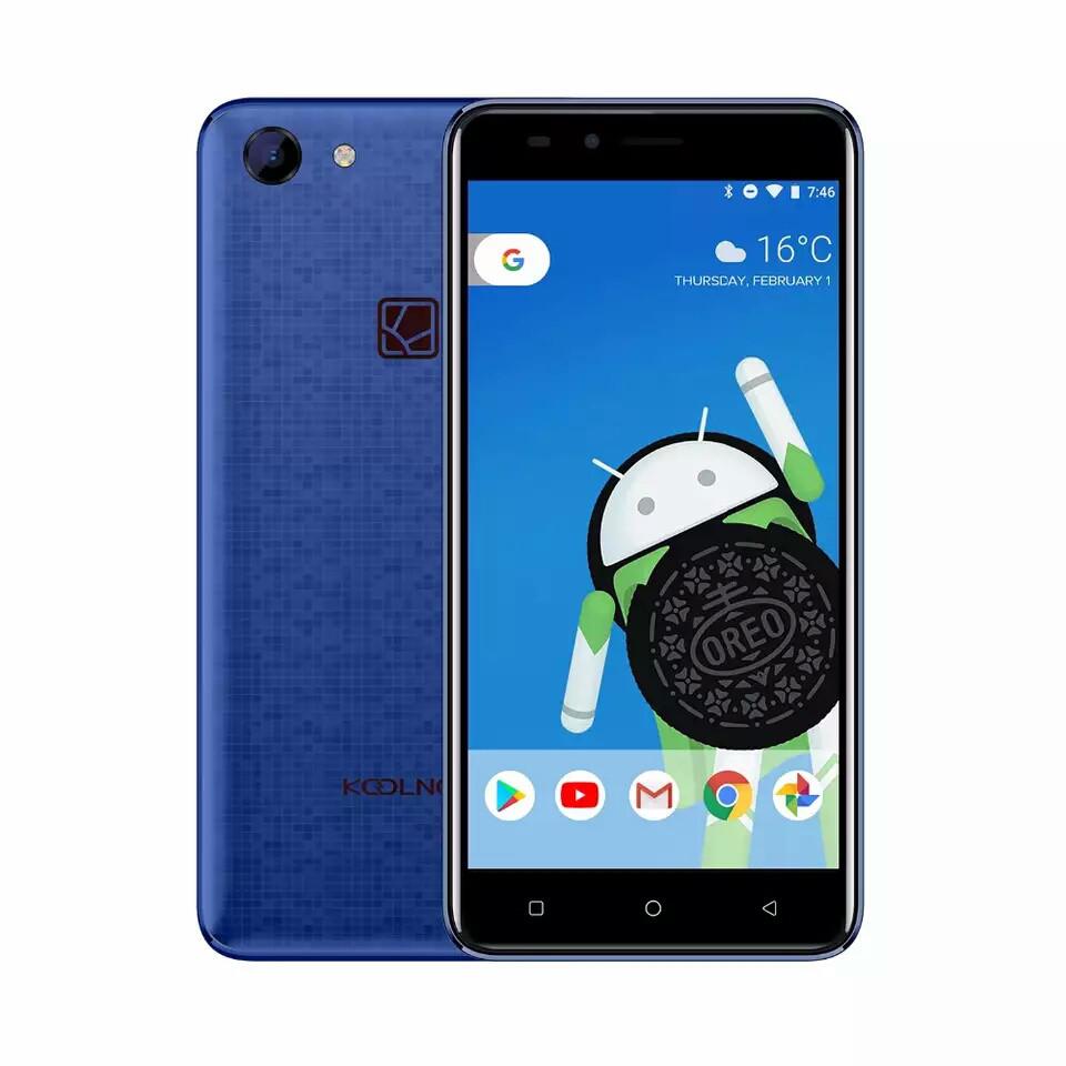 """Смартфон Koolnee Rainbow Blue 5.0"""" 1\8Gb, And 8.1 1280x720 3 сменные панели + чехол"""