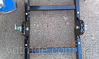 Стальная телескопическая лестница 4х4, фото 5