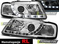 Передние фары тюнинг оптика Audi A3 8L