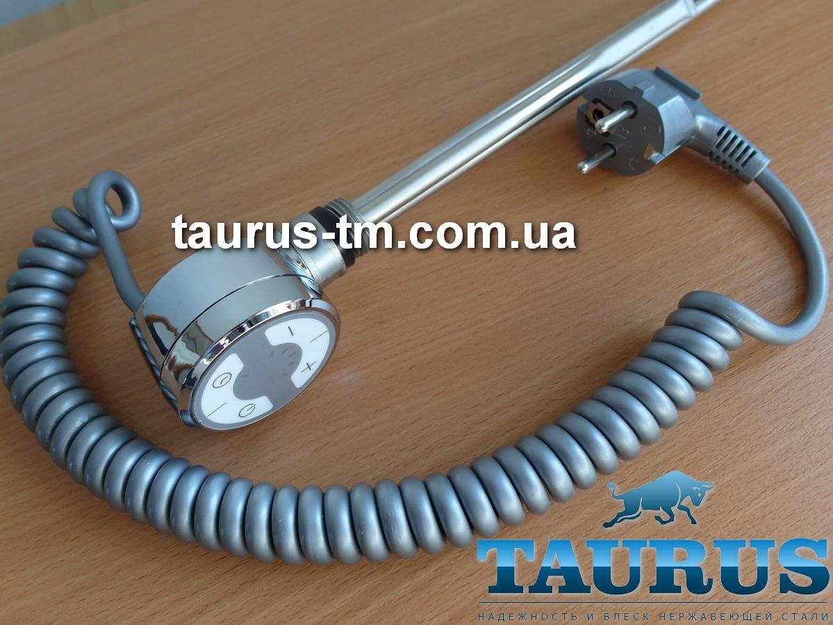 ТЭН TERMA MOA chrome: регулятор 30-65С + таймер 2 ч. + индикация; для полотенцесушителя. Мощность до 1000W