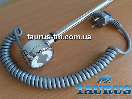 ТЭН TERMA MOA с регулятором + таймер (Польша) хром, для полотенцесушителя. Мощность до 1000Вт.
