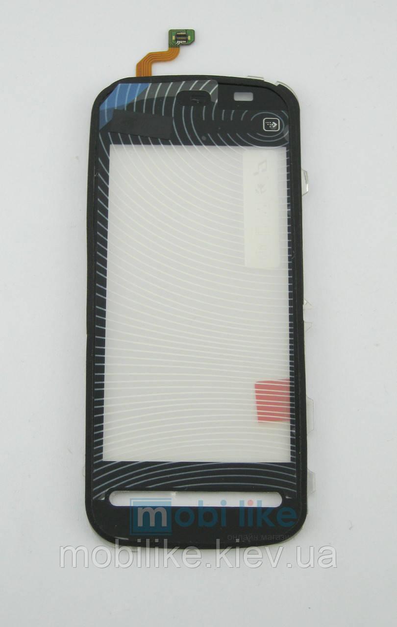 Сенсорний екран Nokia 5230 high copy чорний