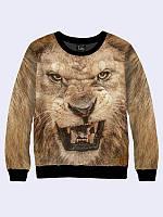 Свитшот Оскал льва