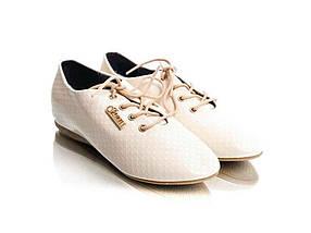 Туфлі жіночі лак (на шнурівці) 16951р.40 ТМQ.T.Y.L.L