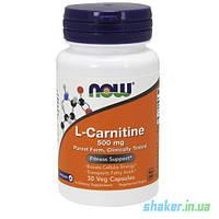 NOW L-Carnitine 500 mg (30 капс) нау л карнитин